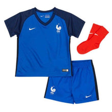 Jerseys / Soccer: Nike National Team 2016 France (H) Baby Kit 724570-439 - Nike / Month: 24-36 / Blue / 2016 Blue Clothing Football France |