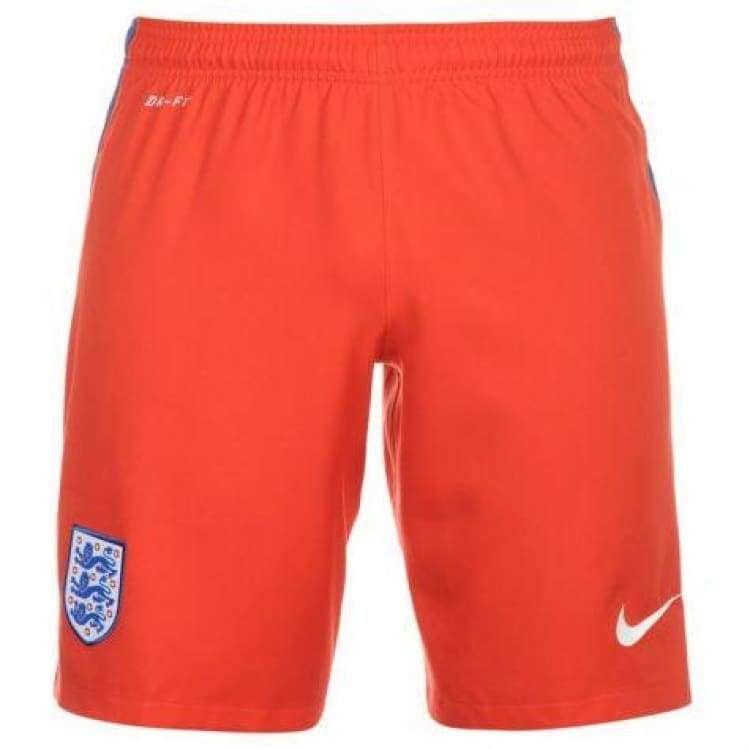 Shorts / Soccer: Nike National Team Euro 2016 England (A) Shorts 724605-600 - Nike / S / Red / 2016 Away Kit England England (World Cup)