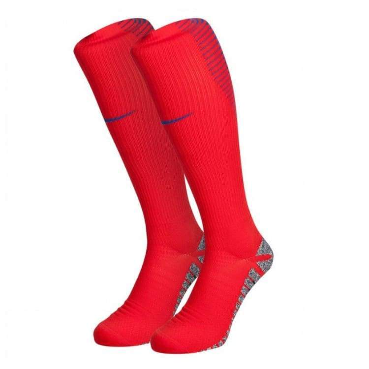 Socks / Soccer: Nike National Team Euro 2016 England (A) Socks 724653-600 - Nike / Uk: 5-8 / Red / 2016 Accessories Away Kit England England