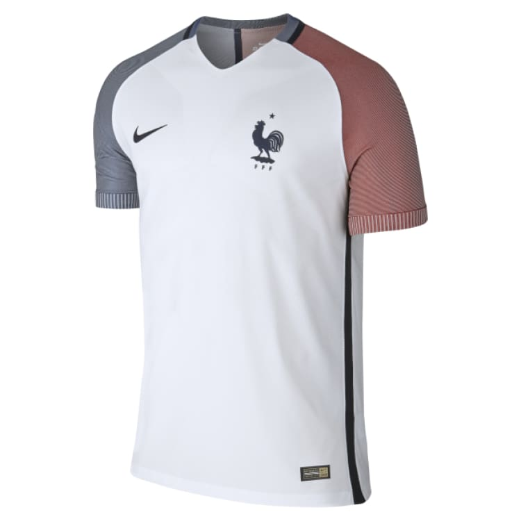 new product 4bd81 e7716 Nike National Team Euro 2016 France (A) Vapor Match S/S Jersey 724613-100