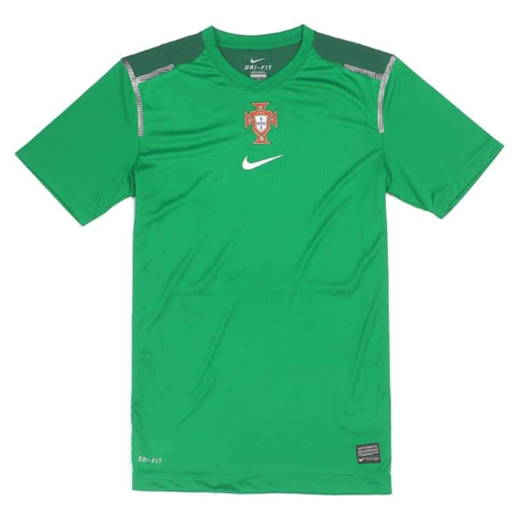 Jerseys / Soccer: Nike National Team Portugal 2011 Pre-Match 447889-302 - Nike / Xl / Green / 2011 Clothing Football Green Jerseys |