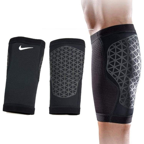 Protectors / Calf Sleeve: Nike Pro Combat Calf Sleeves Blk Nms30001Md - Nike / M / Black / Basketball Black Cycling Fitness & Exercise Gear