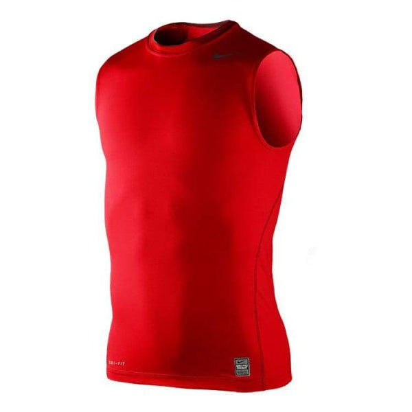 ddd9e210c41 Nike Pro Combat Core Tight Shirt Sleeveless 269602 - Red