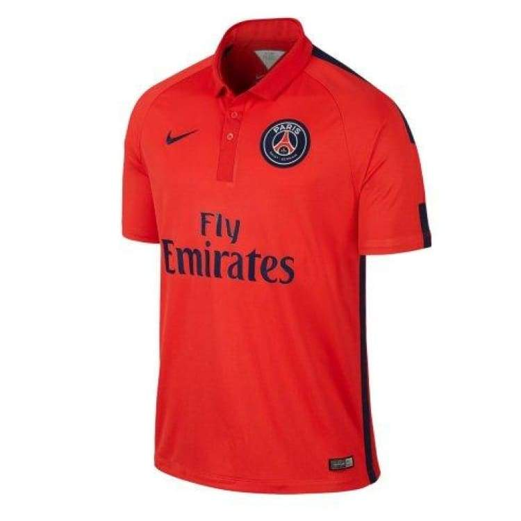 Jerseys / Soccer: Nike Psg 14/15 (3Rd) S/s 655334-698 - Nike / L / Red / 1415 Clothing Football Jerseys Jerseys / Soccer |