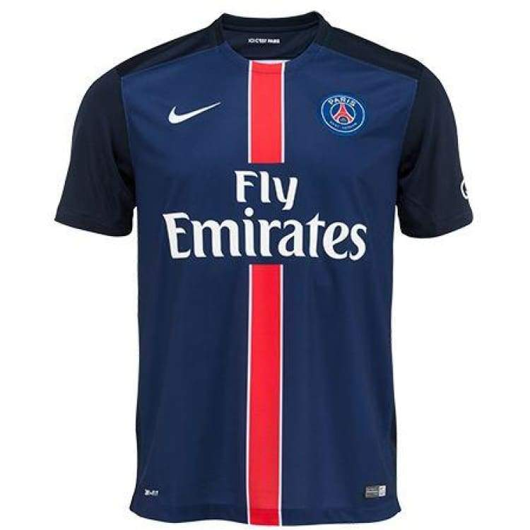 Jerseys / Soccer: Nike Psg 15/16 (H) S/s 658907-411 - Nike / S / Navy / 1516 Clothing Football Home Kit Jerseys | Ochk-Sfalo-658907-411-1