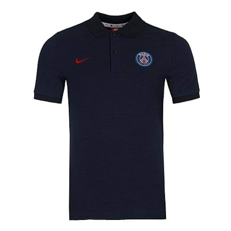 Polos / Short Sleeve: Nike Psg 16/17 Authentic Grand Slam - S / Nike / Navy / 1617 Clothing Football Land Mens | Ochk-Sfalo-810906-410-1