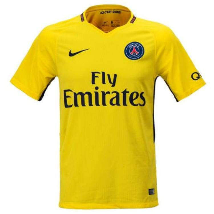 check out 01b60 f1381 Nike PSG 17/18 (A) S/S Men's Jersey 847268-720