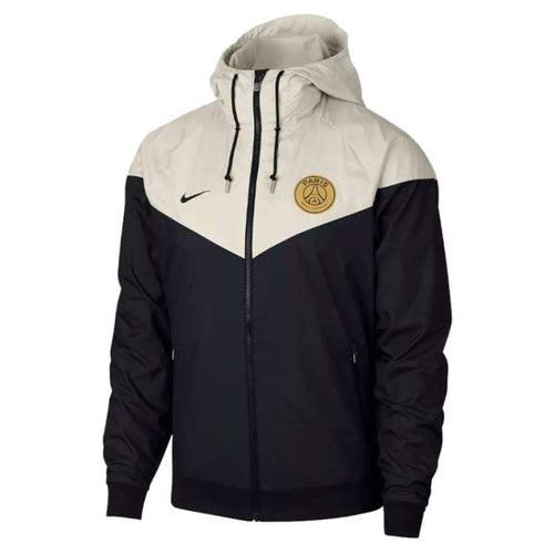 Jackets / Windbreaker: Nike Psg 18/19 Windrunner Mens Jacket 892422-012 - Nike / S / Black / 1819 Black Clothing Football Jackets |