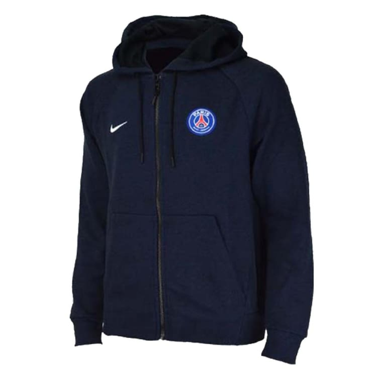 Hoodies & Sweaters: Nike Psg 243 Paris Saint-Germain 18/19 Full Zip Hoodie Av2906-010 - Nike / S / Navy / 1819 Clothing Football Hoodies &