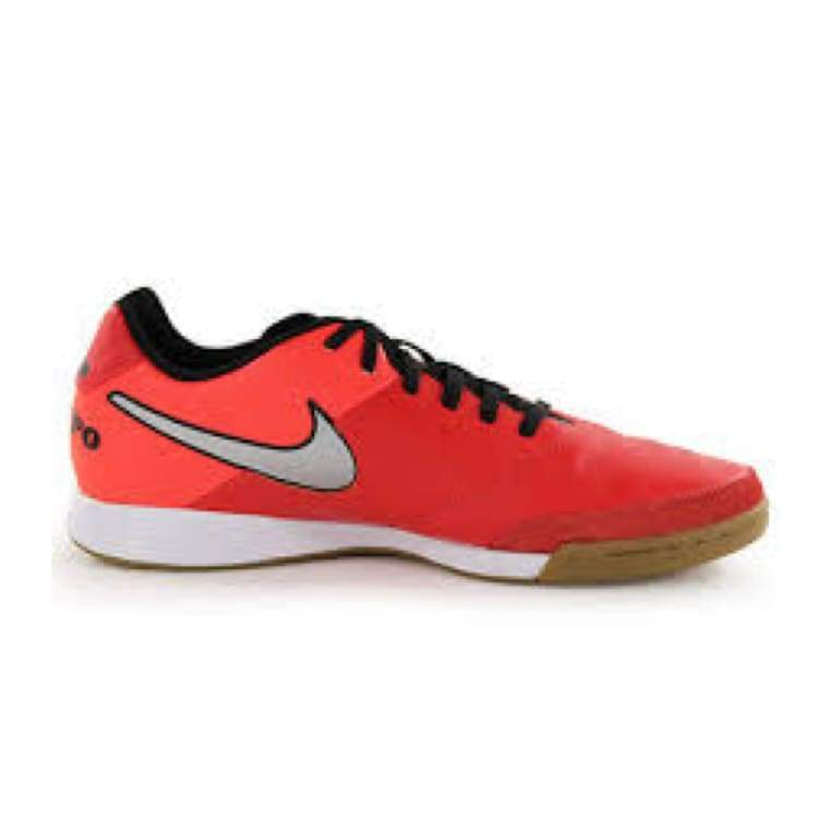 Shoes / Soccer: Nike Tiempo Genio Ii Leather Ic 819215-608 - Nike / Us: 7.0 / Red / Football Footwear Land Mens Nike |