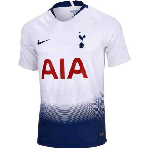 Jerseys / Soccer: Nike Tottenham Hotspur 18/19 (H) Mens Jersey 919005-101 - Nike / S / White / 1819 Clothing Football Home Kit Jerseys |