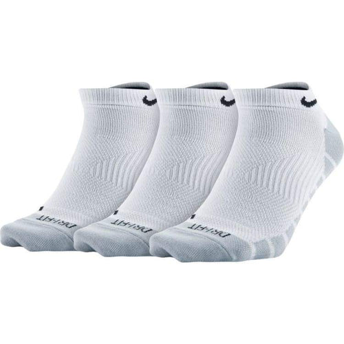 Socks / Casual: Nike U Dry Lightweight Ns 3Pr Sx6940-100 - Nike / M (38-42) / White / Accessories Football Land Mens Nike |
