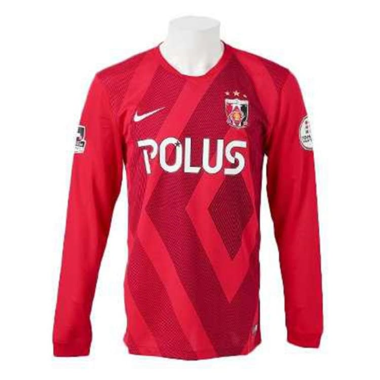 Jerseys / Soccer: Nike Urawa Reds Diamonds 15/16 (H) L/s 645261-611 - Nike / S / Red / 1516 Clothing Football Home Kit J-League |