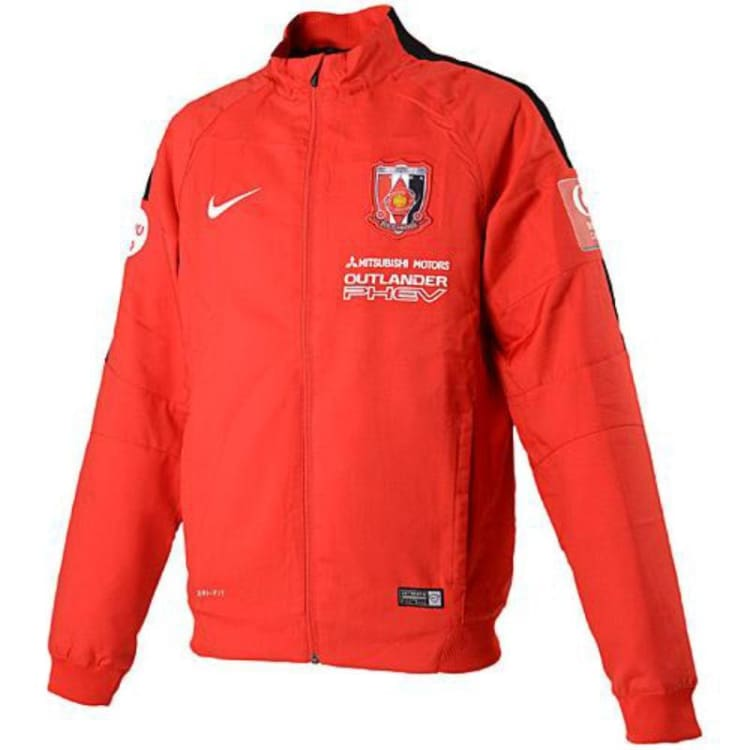 Jackets / Track: Nike Urawa Reds Diamonds 16/17 (H) Jacket 645877-611 - Nike / S / Red / 1617 Clothing Football Home Kit J-League |