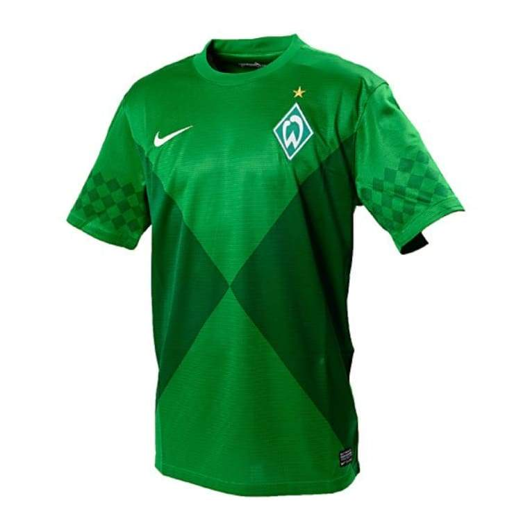Jerseys / Soccer: Nike Werder Bremen 12/13 (H) S/s 479843-377 - S / Green / Nike / Clothing Football Green Jerseys Jerseys / Soccer |