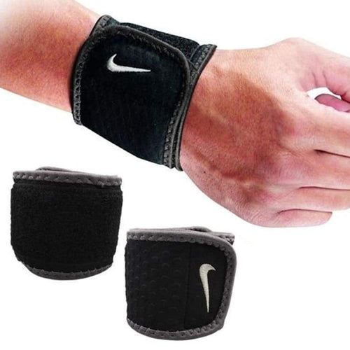 Protectors / Wrist Guard: Nike Wrist Wrap Black/dark 9337030020 - Nike / Black / Basketball Black Fitness & Exercise Gear Gym |