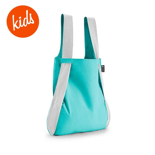 Bags / Shoulder: Notabag Reflective Kids - Mint - Notabag / Mint / Accessories Bags Bags / Shoulder Cycling Kids | Octw-Taioz-Nbkr-Mi