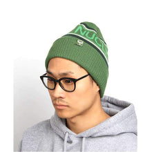 Headwear / Beanies: Nuclear Fission Beanie - 3Color - Accessories Beanies Black Green Head & Neck Wear