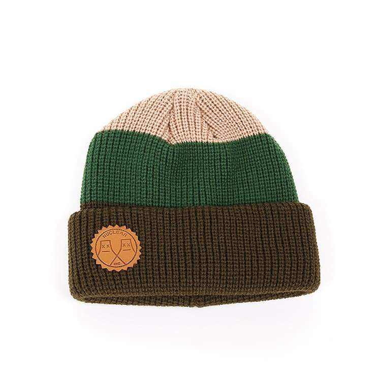 Headwear / Beanies: Nuclear Gamma Beanie - 4Color - Nuclear / Red / Accessories Beanies Black Green Head & Neck Wear |