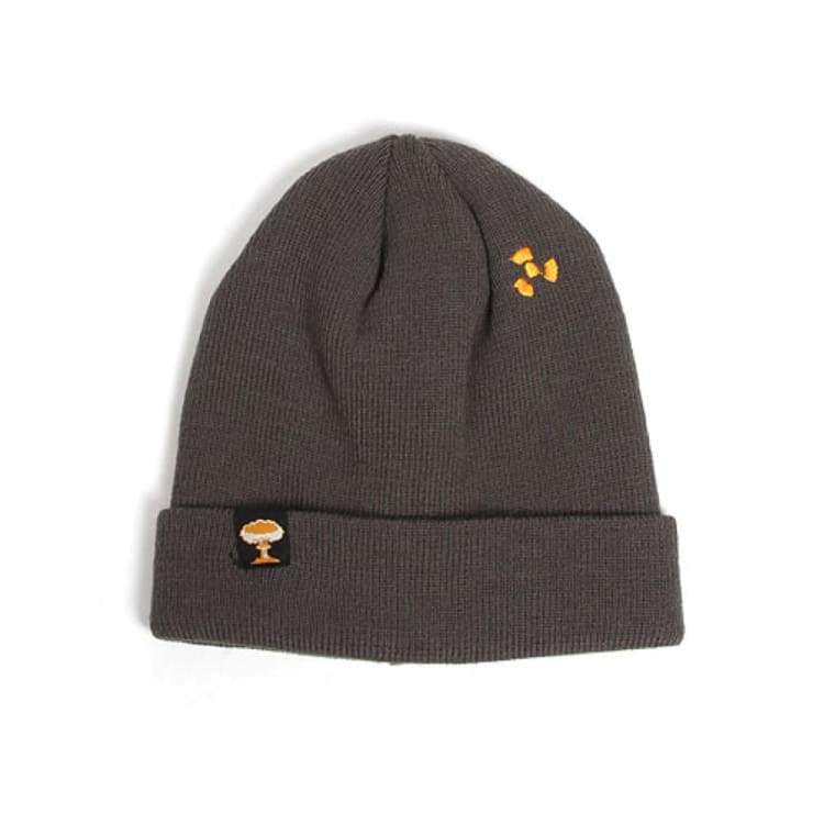 Headwear / Beanies: Nuclear Toxic Beanie - Gray - Nuclear / Gray / Accessories Beanies Gray Head & Neck Wear Headwear / Beanies |