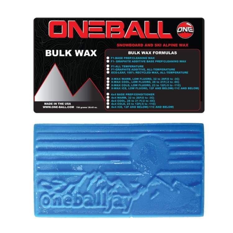 Waxing/ Snow Wax: Oneballjay 4Wd Cold Bulk 23-12F Snow Wax - 750G Fw1718 - Oneballjay / 1718 Gear Ice & Snow On Sale Oneballjay |