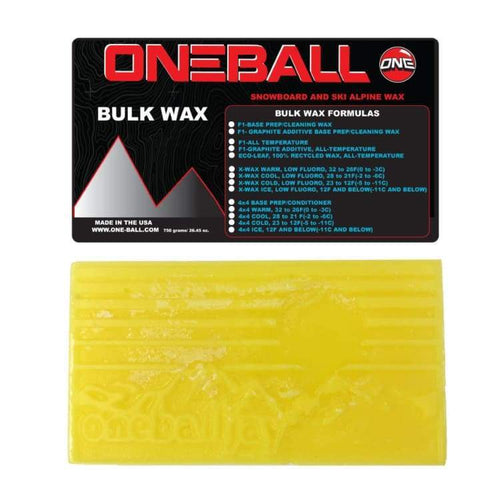 Waxing/ Snow Wax: Oneballjay 4Wd Cool Bulk 28-21F Snow Wax - 750G Fw1718 - Oneballjay / 1718 Gear Ice & Snow On Sale Oneballjay |