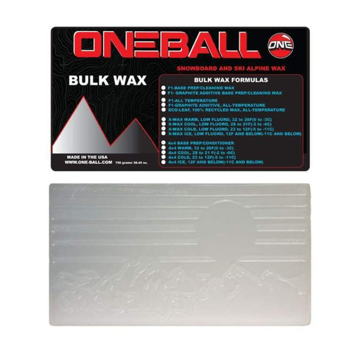Waxing/ Snow Wax: Oneballjay 4Wd Ice Bulk 12F-Below Snow Wax - 750G Fw1718 - Oneballjay / 1718 Gear Ice & Snow On Sale Oneballjay |