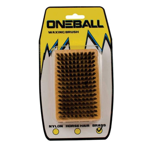 Waxing/ Brushes: Oneballjay Brass Waxing Brush Fw1718 - Oneballjay / 1718 Gear Ice & Snow On Sale Oneballjay | Occn-Whiteline-Tbb