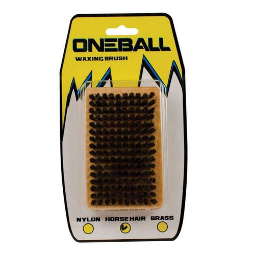 Waxing/ Brushes: Oneballjay Horsehair Waxing Brush - Fw1718 - Oneballjay / 1718 Gear Ice & Snow On Sale Oneballjay | Occn-Whiteline-Tbh