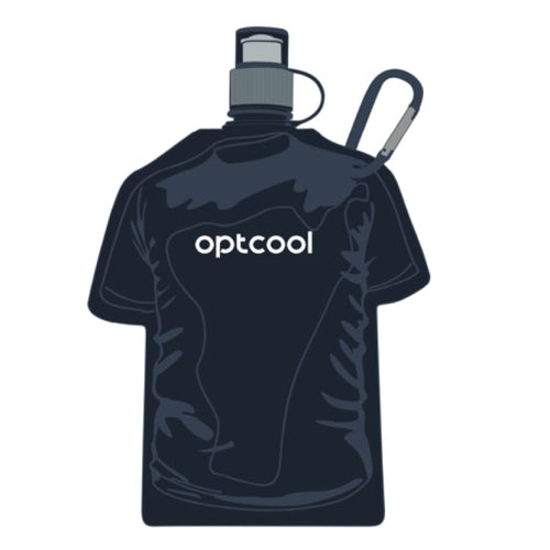 : OPTCOOL Tee Shaped Water Bottle - Accessories Hydration & Water Bottles Ice & Snow Land LCX | OCHK-OPTCOOL-1097311826-BLK