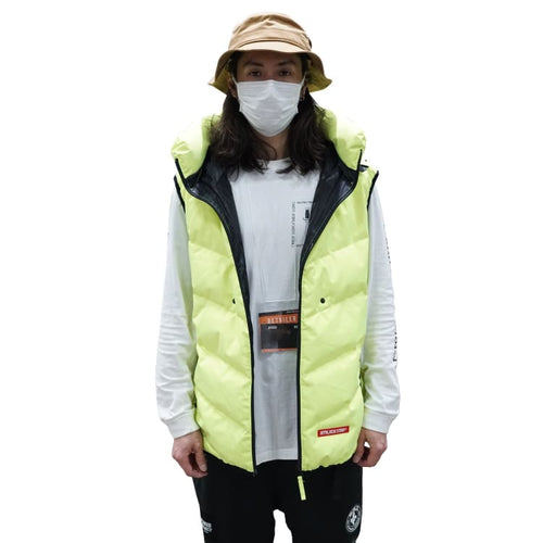 Jackets / Snow: PLANB PROJECT Down Vest Jacket (Japanese Brand) Yellow [Unisex] - 2021, Clothing, Ice & Snow, Jackets, Jackets / Snow |