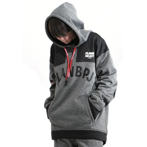 Hoodies & Sweaters: PLANB PROJECT M2 Waterproof Hooded (Japanese Brand) Gray [Unisex] - PLANB PROJECT / S / Gray / 2021, Black, Clothing,