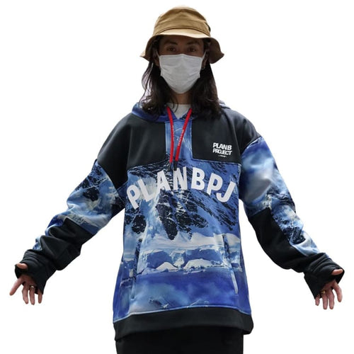 Hoodies & Sweaters: PLANB PROJECT M2 Waterproof Hooded (Japanese Brand) MTN [Unisex] - PLANB PROJECT / S / MTN / 2021, Black, Clothing,
