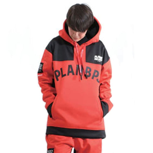 Hoodies & Sweaters: PLANB PROJECT M2 Waterproof Hooded (Japanese Brand) Red [Unisex] - PLANB PROJECT / S / Red / 2021, Black, Clothing,
