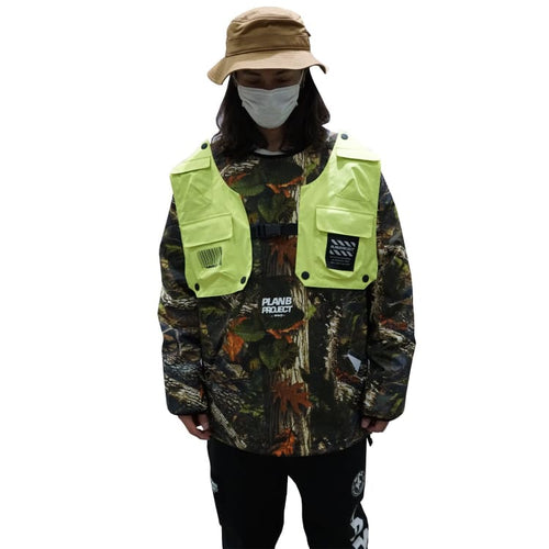 Jackets / Snow: PLANB PROJECT Piste Snow Jacket (Japanese Brand) Tree [Unisex] - PLANB PROJECT / S / Tree / 2021, Clothing, Ice & Snow,