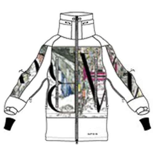 Jackets / Snow: [ PRE-ORDER ] MARQLEEN GALAXXY JACKET (Japanese Brand) ML9000-005 [Unisex] - 1920 Clothing Guy Ice & Snow Jackets |
