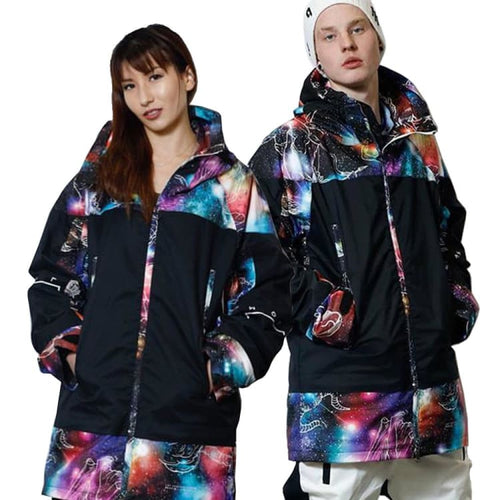 Jackets / Snow: [ PRE-ORDER ] MARQLEEN GALAXXY JACKET (Japanese Brand) ML9000-777 [Unisex] - MARQLEEN ULTIMARA / S / Utyu Sign / 1920