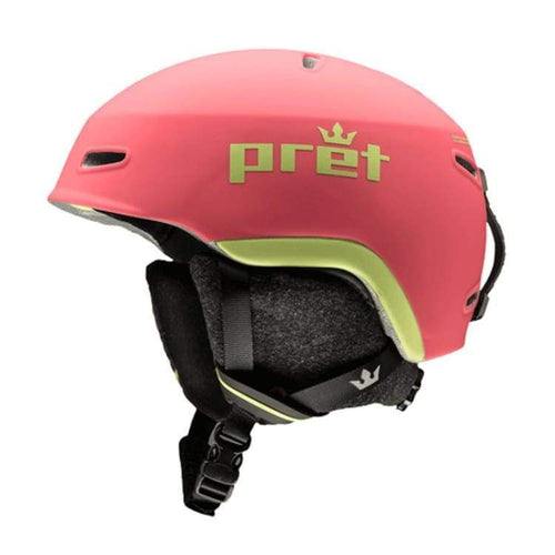 Helmets / Snow: Pret Kid Lid Bh Helmet 1819 - Blush [Kids] - Pret / S / Blush / 1819 Blush Gear Helmets / Snow Ice & Snow |