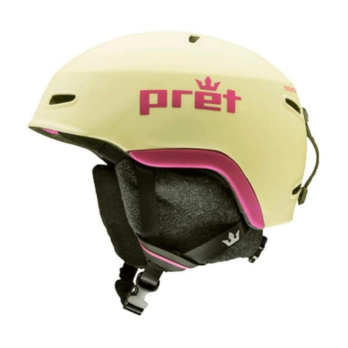 Helmets / Snow: Pret Kid Lid Le Helmet 1819 - Lemonade [Kids] - Pret / S / Lemonade / 1819 Gear Helmets / Snow Ice & Snow Kids |