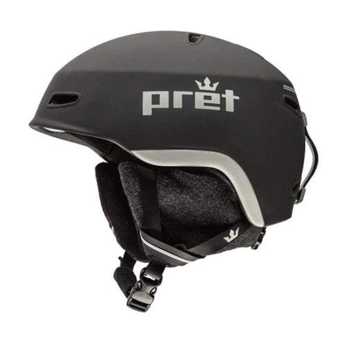 Helmets / Snow: Pret Kid Lid Tb Helmet 1819 - Team Black [Kids] - Pret / S / Team Black / 1819 Gear Helmets / Snow Ice & Snow Kids |