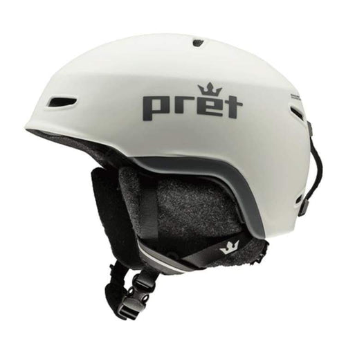 Helmets / Snow: Pret Lid Ss Helmet 1819 - Sea Salt - Pret / M / Sea Salt / 1819 Gear Helmets / Snow Ice & Snow Mens |