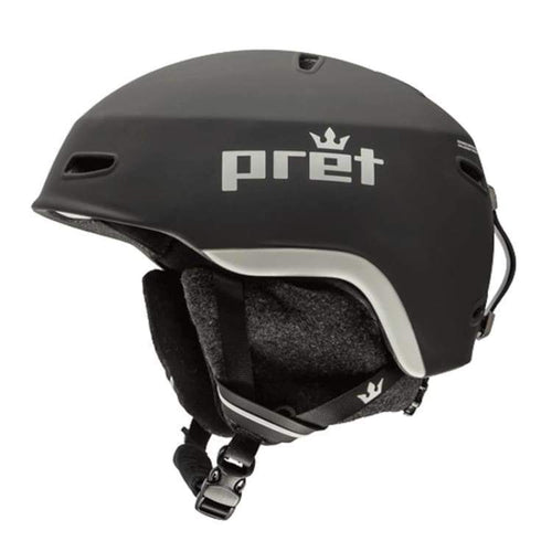 Helmets / Snow: Pret Lid Tb Helmet 1819 - Team Black - Pret / M / Team Black / 1819 Gear Helmets / Snow Ice & Snow Mens |