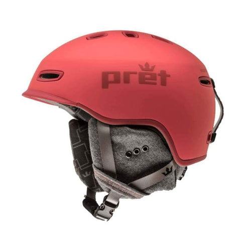 Helmets / Snow: Pret Lyric Bh Helmet 1819 - Blush [Womens] - Pret / M / Blush / 1819 Blush Gear Helmets / Snow Ice & Snow |