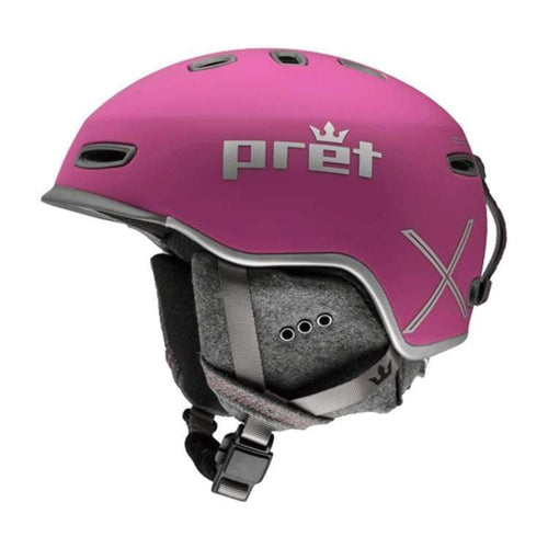 Helmets / Snow: Pret Lyric X Rv Helmet 1819 - Rose Violet [Womens] - Pret / M / Rose Violet / 1819 Gear Helmets / Snow Ice & Snow On Sale |