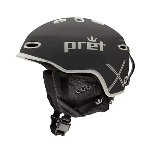 Helmets / Snow: Pret Ripper X Tb Helmet 1819 - Team Black - Pret / S / Team Black / 1819 Gear Helmets / Snow Ice & Snow Kids |