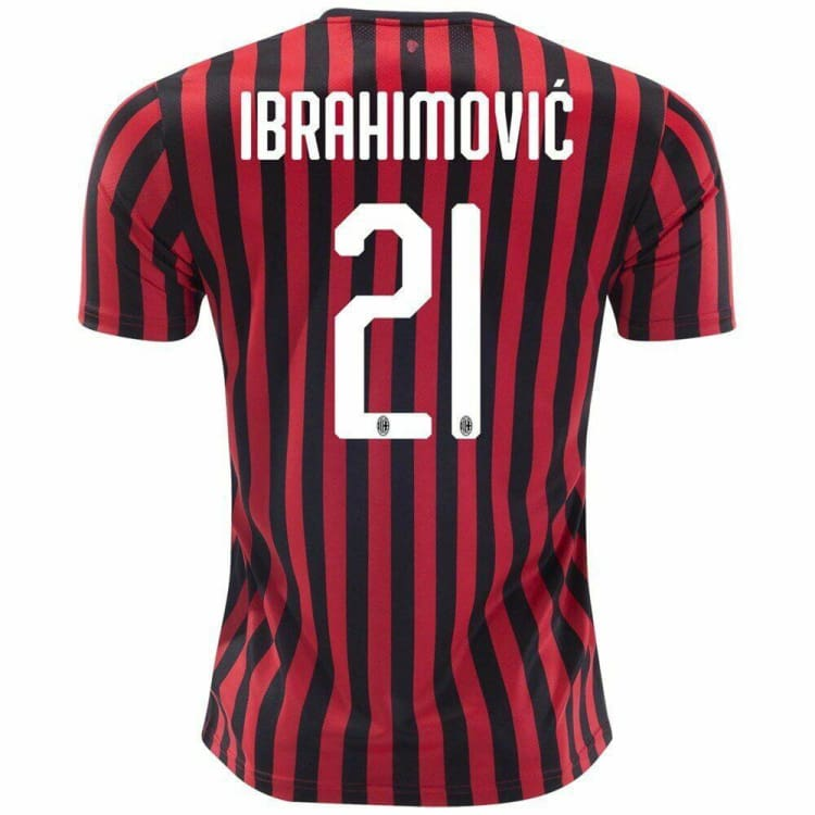 Jerseys / Soccer: Puma AC Milan 19/20 Home S/S Men's Jersey Authentic Version Ibrahimovic #21 75585401 - Puma / XS / Red / 1920, AC MILAN,