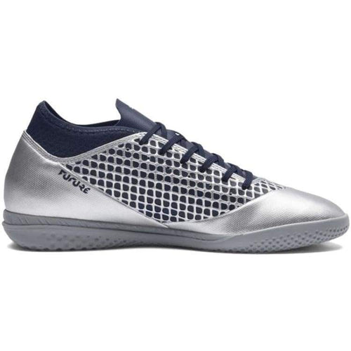 Shoes / Soccer: Puma Adult Future 2.4 It Training Shoes 104842-04 - Puma / Uk: 7.0 / Silver / Footwear Land Mens Puma Sfalo |