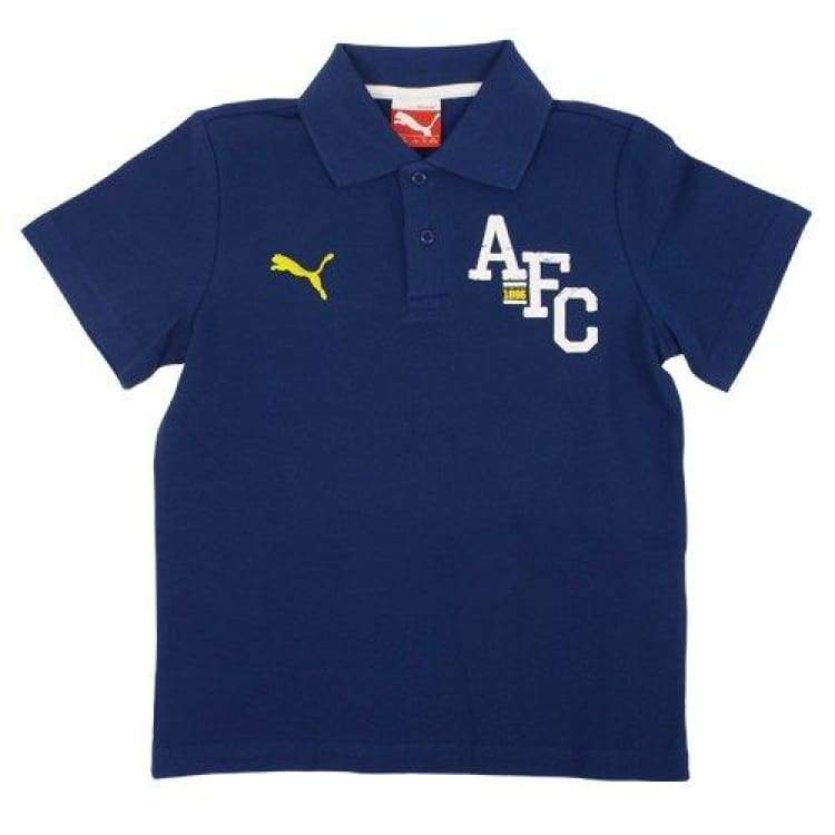 Polos / Short Sleeve: Puma Arsenal 14/15 Fan Polo Blue 747106-03 - Puma / Xs / Navy / 1415 Arsenal Clothing Fans Wear Football |