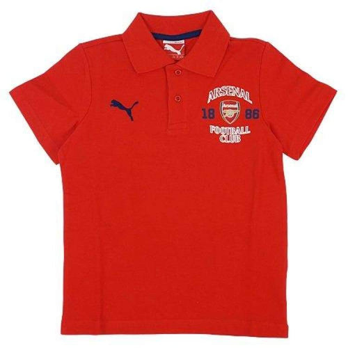 Polos / Short Sleeve: Puma Arsenal 14/15 Fan Polo Red 747106-01 - Puma / Xs / Red / 1415 Arsenal Clothing Fans Wear Football |