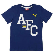 Tees / Short Sleeve: Puma Arsenal 14/15 Fan Tee 746944-03 - Puma / Xs / Blue / 1415 Arsenal Blue Clothing Fans Wear |